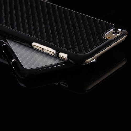 "Hot Most Popular Carbon Fiber Chromed Hard Case Cover Skin For Iphone 6 4.7"" Plus 5.5"" 6WQU 7C1O(China (Mainland))"