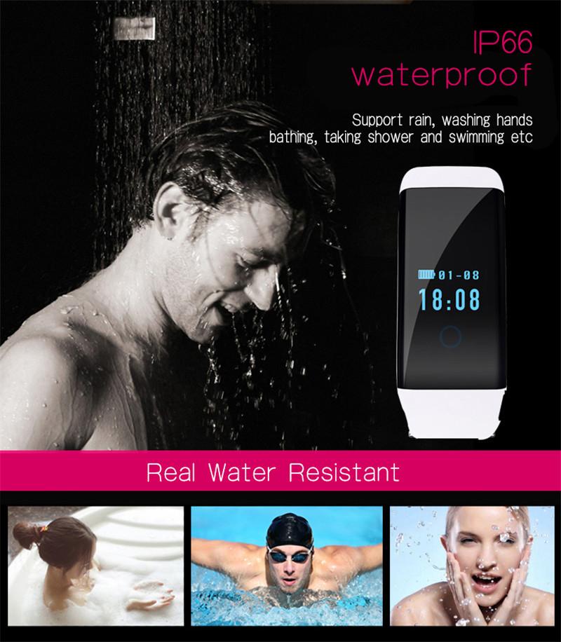 ถูก ข้อเสนอพิเศษ!!! p assometerเตือนข้อความH Eart Rate Monitorกีฬานาฬิกาสมาร์ทสำหรับA Ndroid Smartwatch