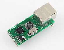 Free shipping Serial Port Server Module Ethernet Network To RS232 TCPIP RJ45 To TTL Seckill ENC28J60 best quality.(China (Mainland))