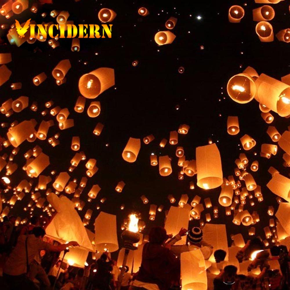 Free Shipping 4pcs/lot Chinese Kongming wishing Lanterns Christmas wedding SKY Flying Balloon Light Halloween Lights(China (Mainland))