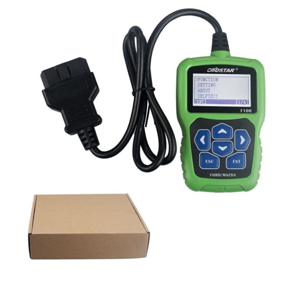2016 OBDSTAR F100 MA/Fd Auto Key Programmer No Need Pin Code F 100 Support New Models and Odometer Correction(China (Mainland))