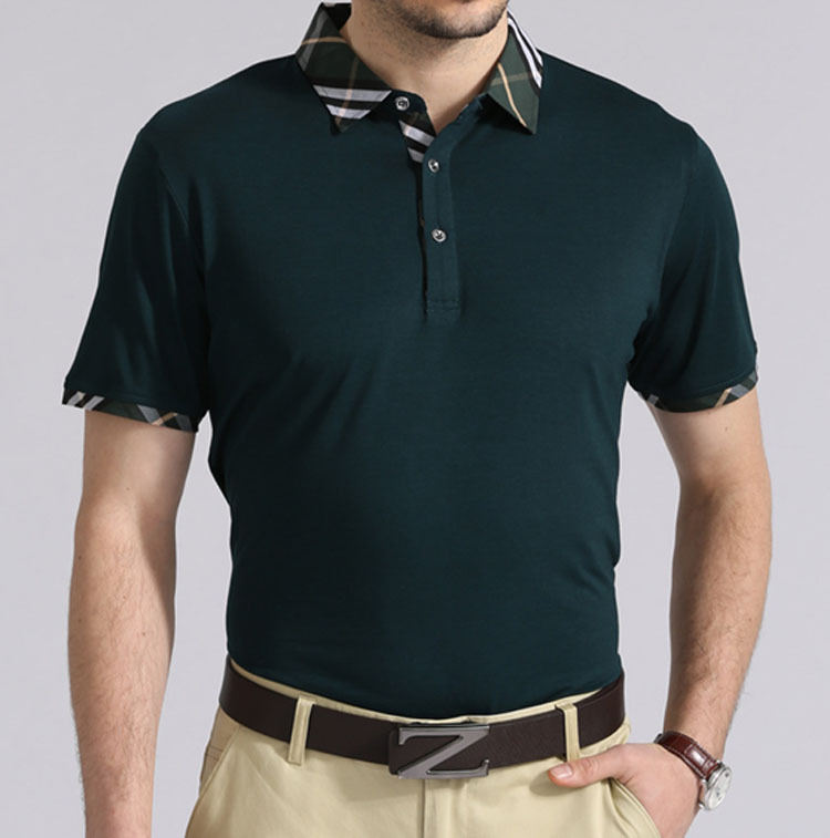 2014 high end new men summer polo shirts with elegant for High end men s shirts