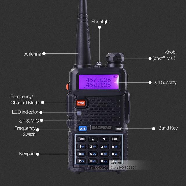 BAOFENG UV-5R Dual Band Radio