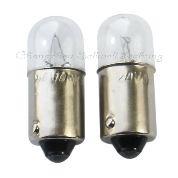 Buy Good Miniature Lamps Bulbs 24v 4w Ba9s T10x25 A096 From Reliable Lamp Bulb