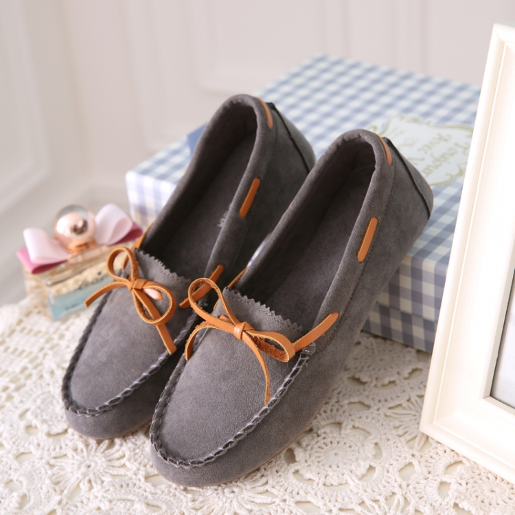 New arrival women loafers summer style pu leather shoes woman bowtie slip on round toe female boat shoes<br><br>Aliexpress