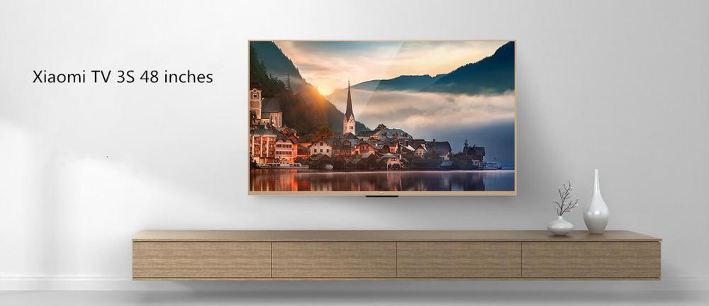 Newest 100% Original Xiaomi TV 3S 48 Inches English Menu Real 4K 1920*1080 Ultra HD Quad Core Household TV
