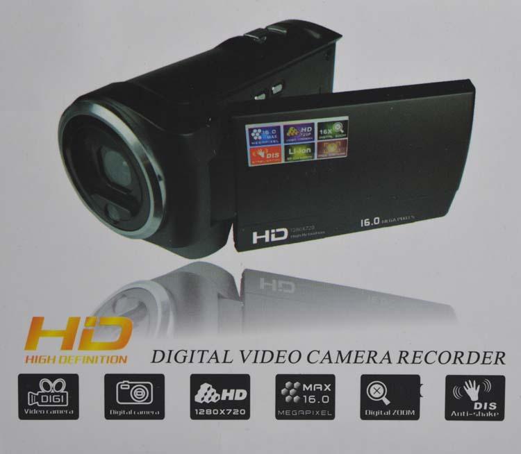 "2015 hot cheap DVR Camcorders 720P digital Camcorders 16 MP 2.7"" TFT LCD 16x Digital Zoom Video Camera Recorder HD-C6(China (Mainland))"