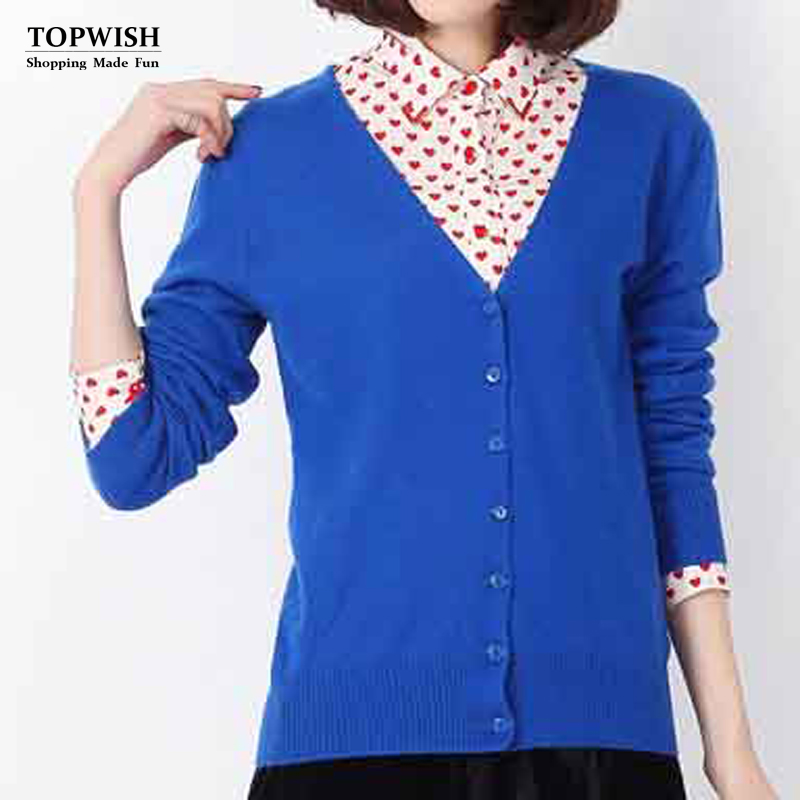 New Arrival Cashmere Blend Sweater women top sale sweater Fashion Cardigans free shipping TFP608(China (Mainland))