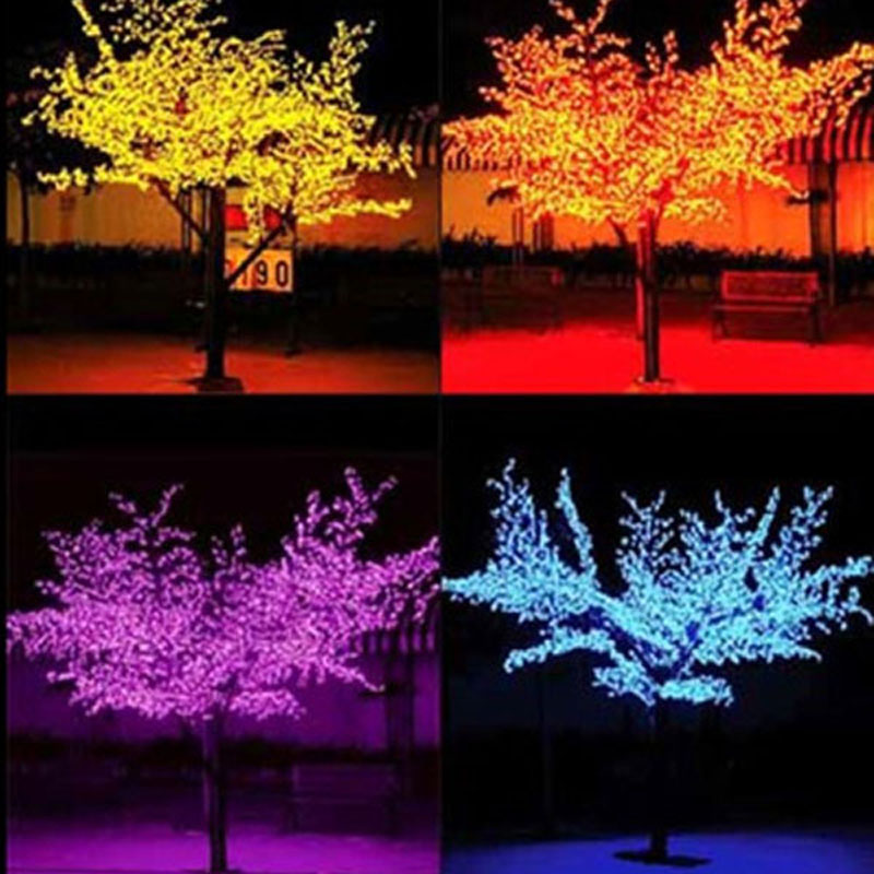 864LEDS 200cm high led cherry tree lights from tree and led strip lights store(China (Mainland))