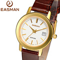 EASMAN Women Watches Women Quartz Watch High Quality Brand Clock Hours Ladies Gold Leather Switzerland Wristwatches