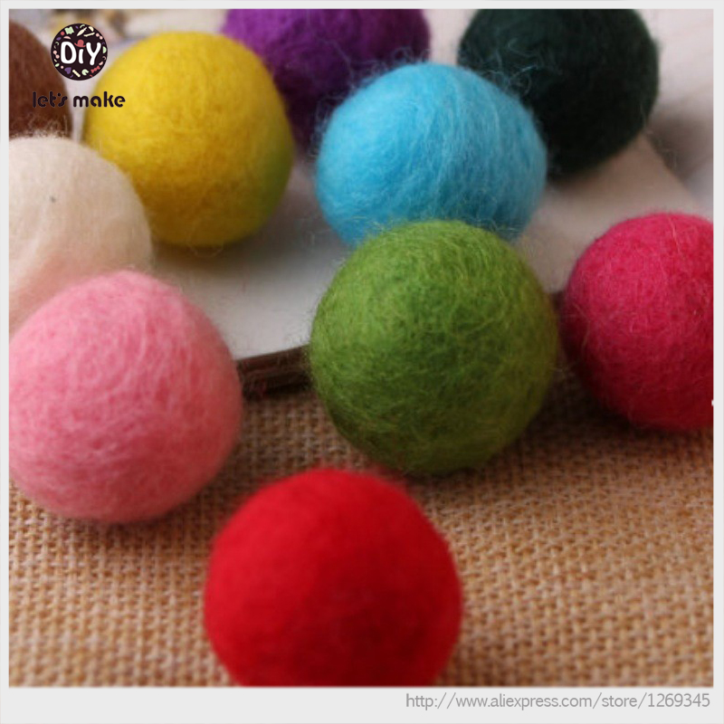 Felt Balls 2cm x150 Mixed Colours Wool Colourful Felt Balls Wholesale Multicolour Bulk Felt Ball Supplies Felt Balls Supplier(China (Mainland))