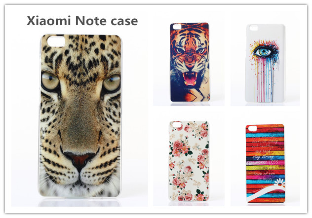 Flower cell phone case for xiaomi note Soft luxury Tiger cases soft protective cover for xiaomi note Chirstmas gift RXM15072301(China (Mainland))