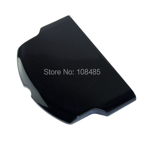 New Replacement Black Battery Cover Door Case For PSP 3000