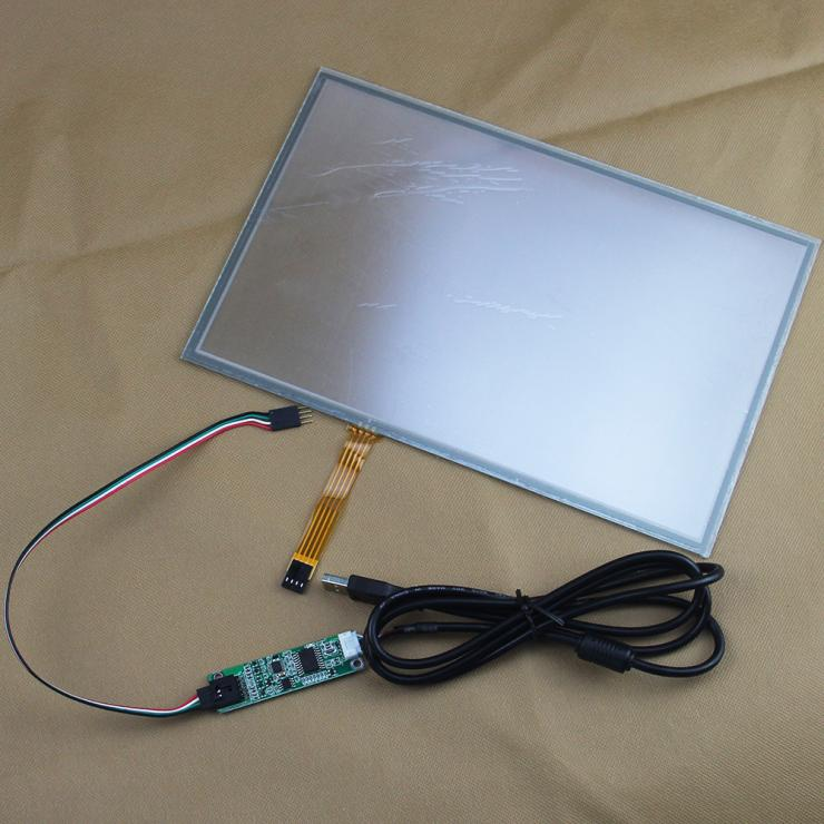 12.1 276*178mm 5wire Resistive 275*178mm Touch screen Panel Digitizer For 16:9 LCD Control in Business Machines+USB Controller<br><br>Aliexpress