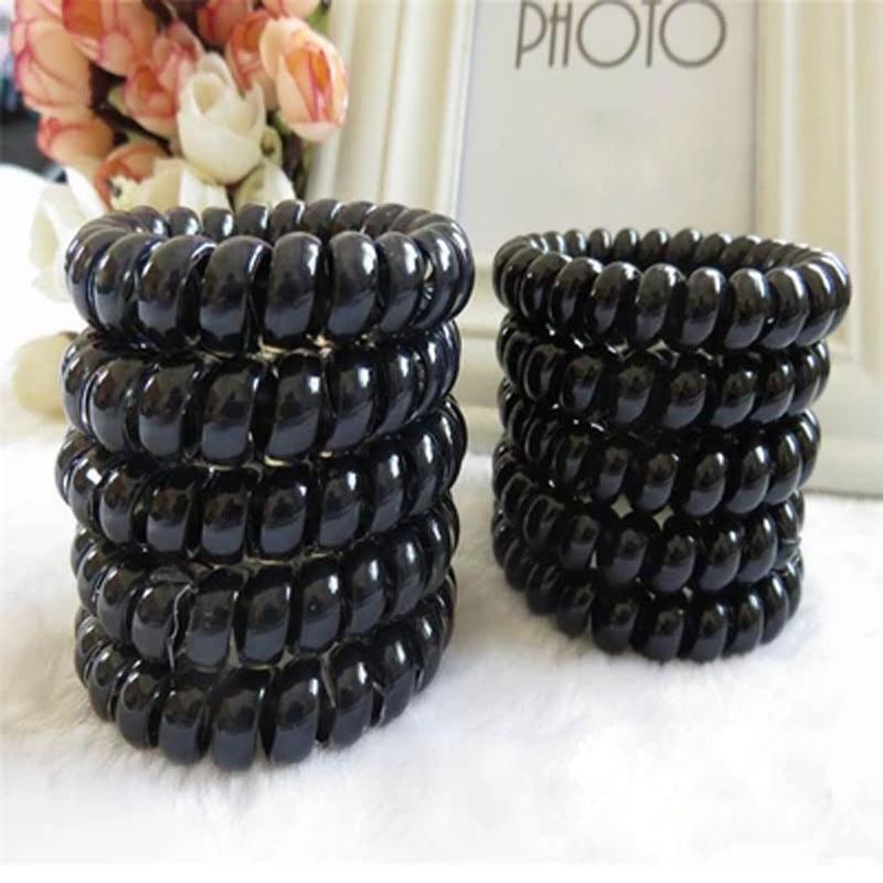 4pcs Hair Braiding Tool Machine Telephone Wire Ring Hair Accessories For Hair Elastic Ring Women Gum Plaiting(China (Mainland))