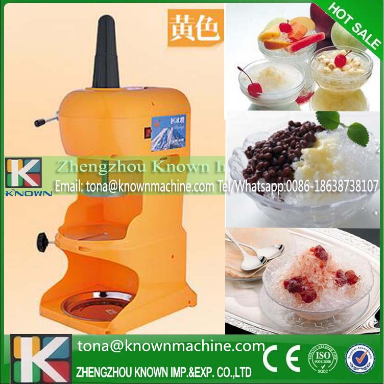 Commercial electric ice shaver/professional ice crusher electric stainess steel ice crusher(China (Mainland))