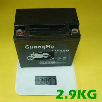 Motorcycle battery lead acid battery electric bicycle battery 12v9ah-2 maintenance free battery
