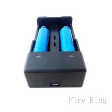 18650 battery charger and 2 battery charger  port usb charger Fireking  XXC-988 battery charger