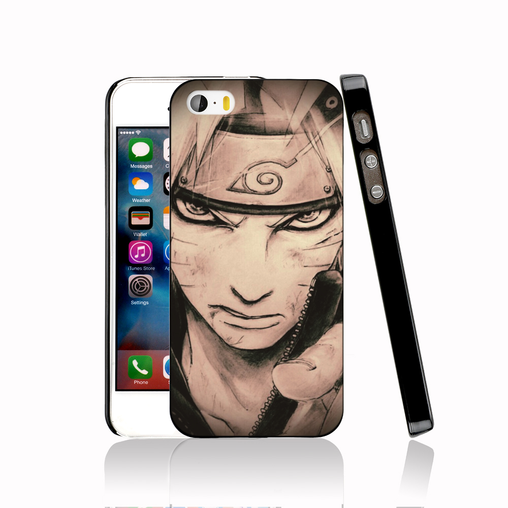 14309 naruto protective Cover cell phone Case for iPhone 4 4S 5 5S 5C SE 6 6S Plus 6SPlus(China (Mainland))