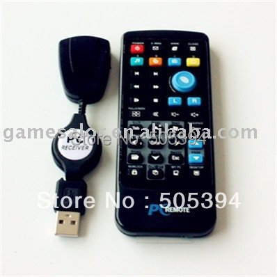 IR Wireless Controller PC Computer Remote Control USB Media Center fly Mouse & USB Receiver For Windows 7 XP VISTA Hot