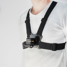 TELESIN New Arrival Adjustable Chest Belt Strap Harness with Frame Mount Adapter for Polaroid Cube and Cube+