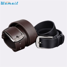 Buy Fashion Belt WOMAIL delicate men belts New Men Metal Buckle Leather Waistband Vintage Classic Pin Buckle Belts W25 Apr30 for $3.88 in AliExpress store