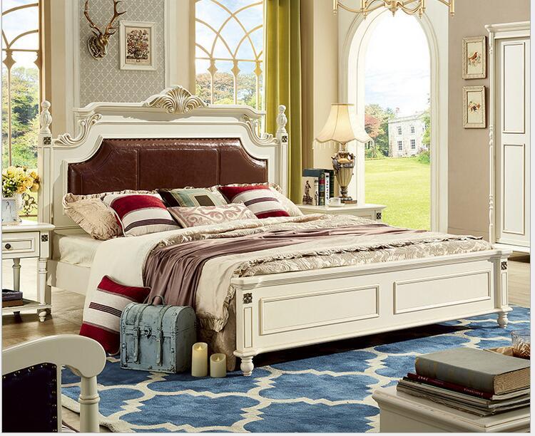 online kaufen gro handel echtholz betten aus china. Black Bedroom Furniture Sets. Home Design Ideas
