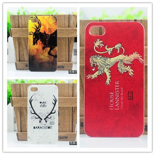 Wholesale Hot Sale Game Of Thrones Monster Dragon Wolf Hard Plastic Case Cover For Samsung Epic 4G Touch D710(China (Mainland))