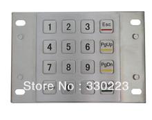 Pin Pad with Waterproof terminal keyboard