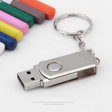 Best Metal USB Flash Drive USB 2.0 Key Chain Pendrives 4GB 8GB 16GB 32GB 64GB usb stick Pen Drive Memory Stick