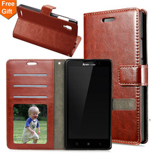 """Buy Retro Crazy Horse Pattern Flip Phone Cases Lenovo P780 P 780 5.0"""" Wallet PU Leather Case Card Holder Cell Phone Bag Cover for $3.52 in AliExpress store"""