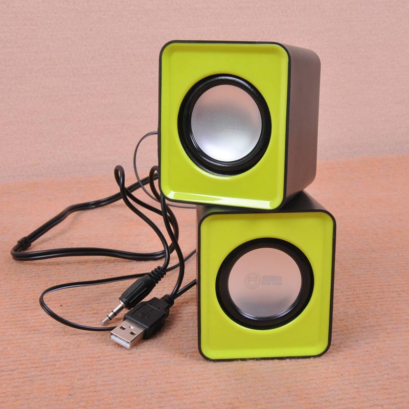 USB 3.5mm Audio Cute Good Portable Wired Multimedia Speakers pc Mini Loudspeaker box mini boombox sound computer - Oh Pretty Woman store
