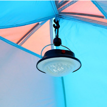 60 LED Ultra Bright Outdoor Handle Camping Lamp Tent Light with Lampshade Circle Durable ABS Fishing Hanging Lighting(China (Mainland))