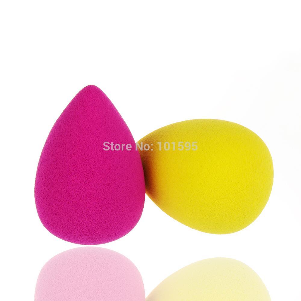 2pcs/lot Makeup Foundation Sponge Blender Blending Cosmetic Water Shape Puff Flawless Powder Smooth Beauty Make Up Tool