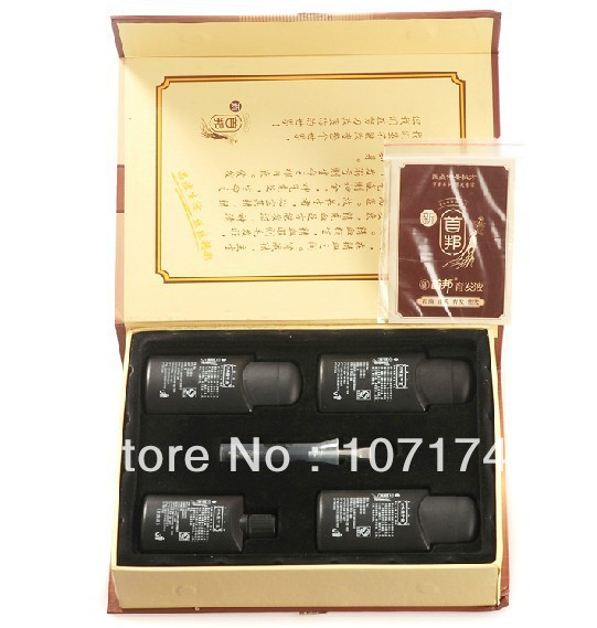 Big Sell HK POST 100% Original real result sunburst hair growth 6in1 shou bang Help Hair regrow(China (Mainland))