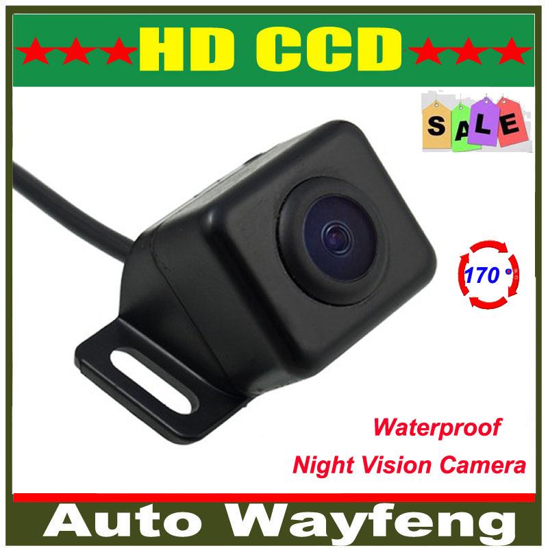 Free shipping Vehicle Color View Max 170 Angle Backup Camera Car Rear Camera Reverse Camera Car Rearview rear view Camera(China (Mainland))