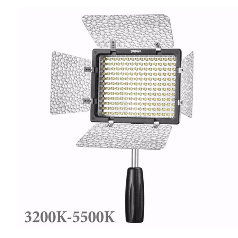 Yongnuo YN160 III 3200-5500K CRI95 160 LED Video Light Suit for Canon Nikon Sony DSLR &amp; Camcorder Light YN-160 III<br><br>Aliexpress