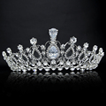 Oversize Crystal Bride Hair Accessory Wedding Tiaras And Crown For Sale Rhinestone Pageant Crowns Head Jewelry