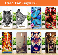 Hot Selling JIAYU S3 Case Cover,14 patterns Colored Painting Soft tpu Case Cover FOR JIAYU S3 Phone with Free Shipping