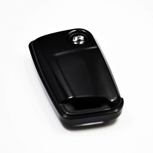 Black Key Keyless Entry Remote Fob Key Cover Key Shell&amp; Red R Emblem FIT MK7 Golf 7<br><br>Aliexpress