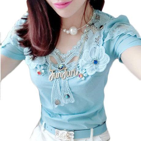 цена Женские блузки и Рубашки Brand new 2015 Blusas Femininas XL 39141110697# онлайн в 2017 году