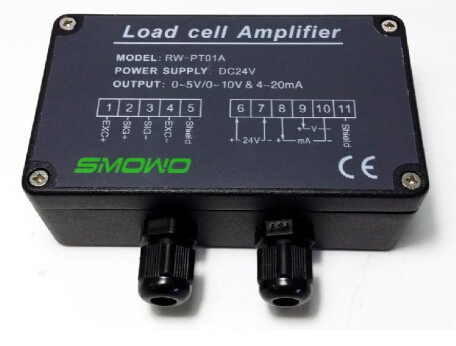 Load cell transmitter