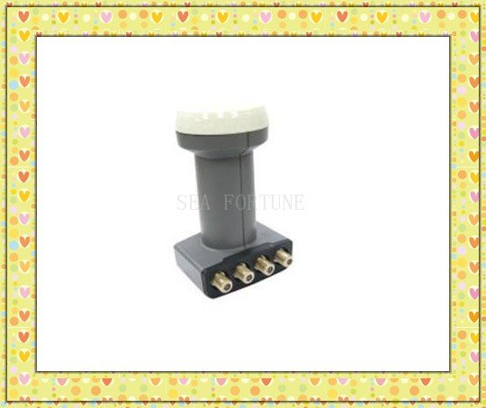 Universal Quattro LNBF,High quality weather protection,Four Receivers Share One LNB, Drop Shipping(China (Mainland))