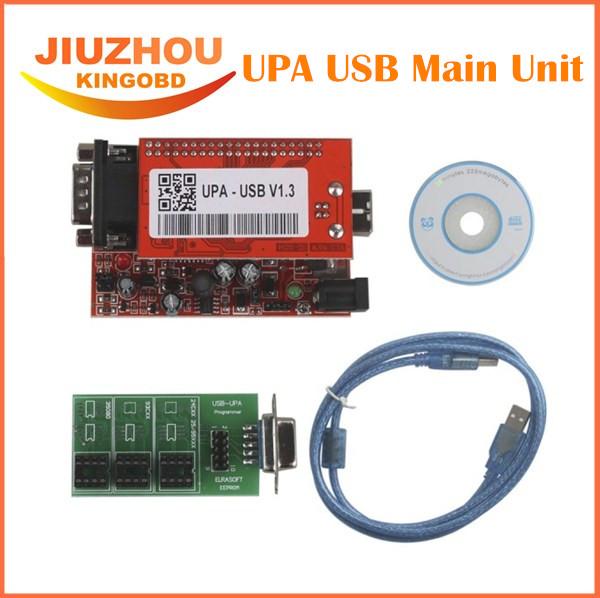 2016 New V1.3 UPA USB Programmer for 2013 Version Main Unit for Sale UPA USB ECU Programmer ECU Chip Tuning tool(China (Mainland))