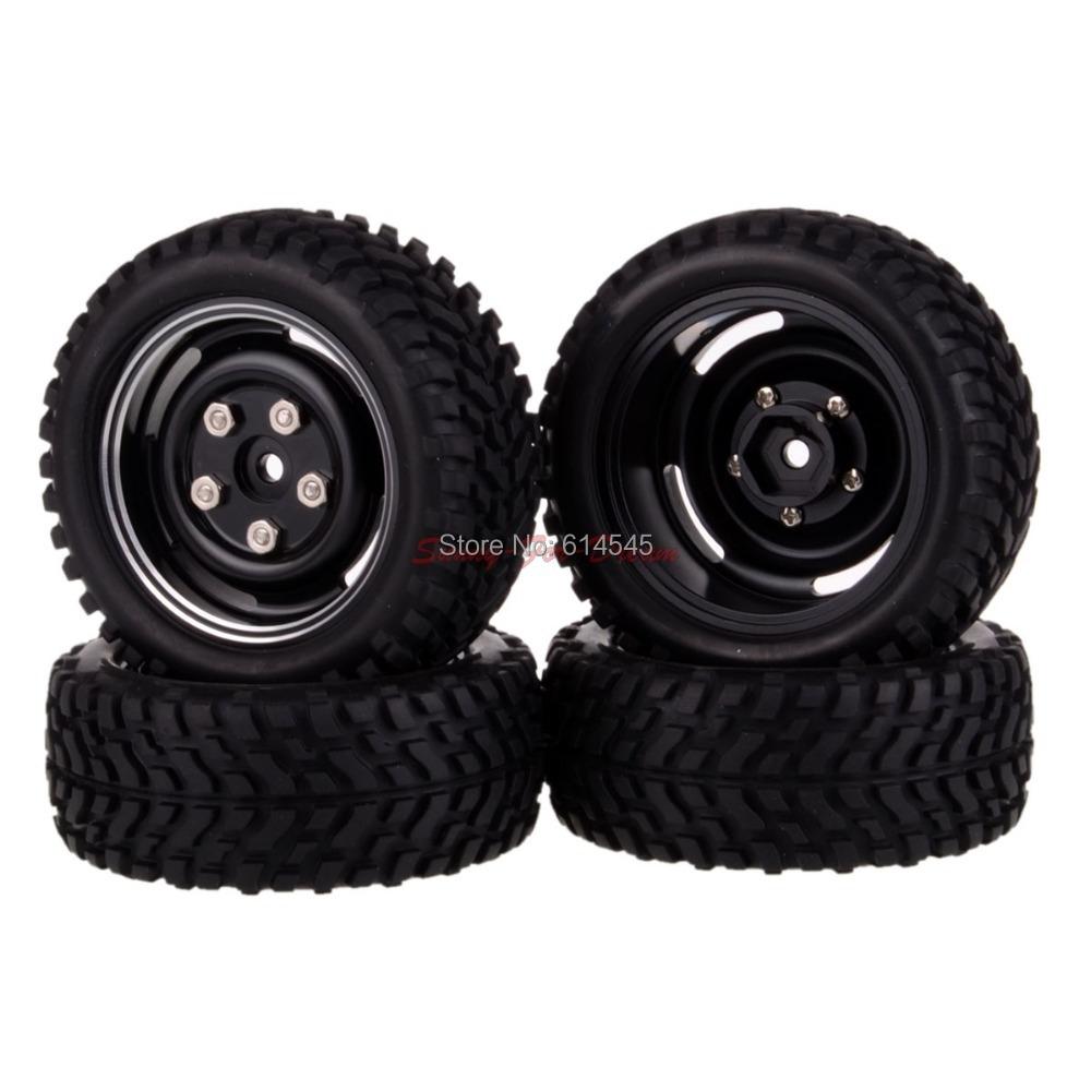 4xRC Rally 1:10 Car On Road OR 1:16 Off-Road Metal Wheel Rim Tyre,Tires 104-7004
