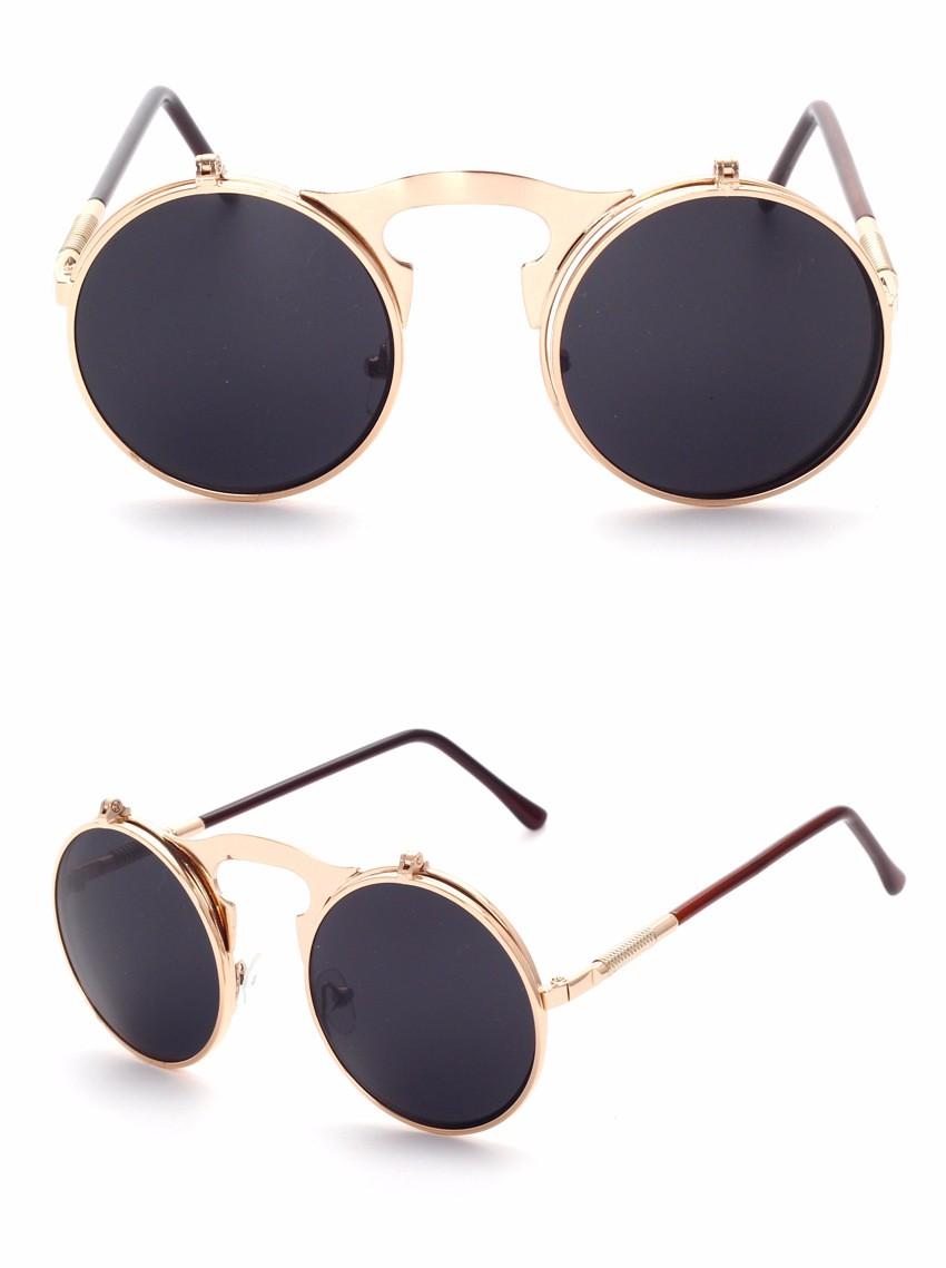 STEAMPUNK Sunglasses round Designer