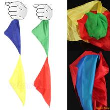 1pc New Magic Trick Props Magic Tools Toys Practical Change Color Silk Scarf (China (Mainland))