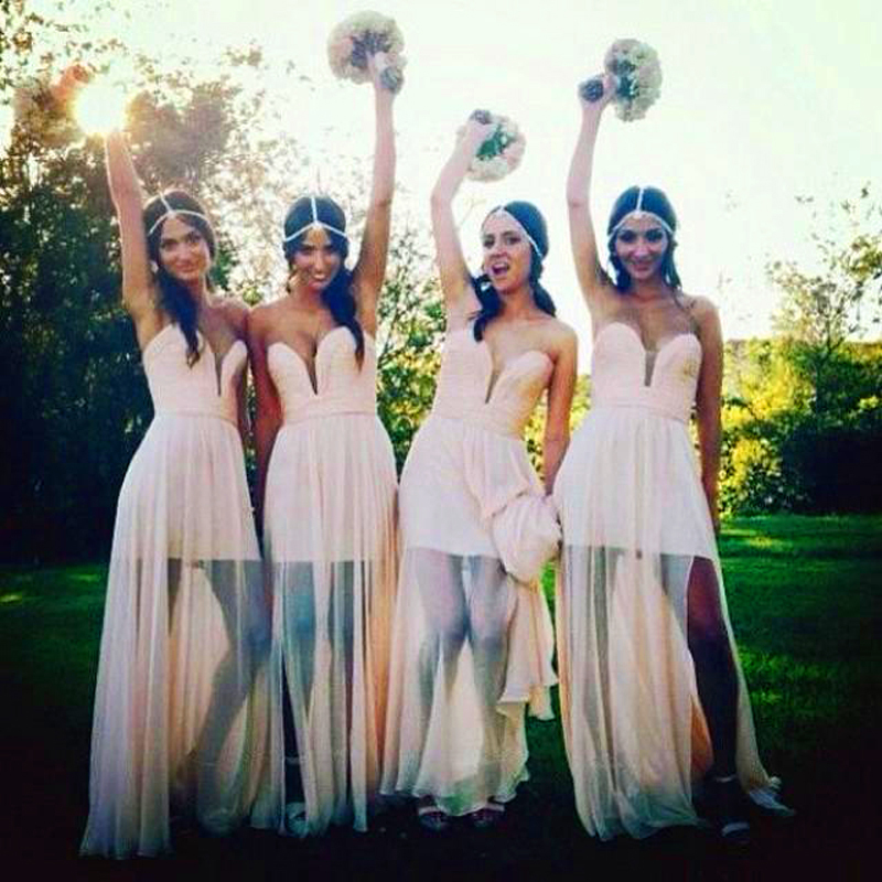 2015 bohemian bridesmaid dresses sexy wedding guest abaya for Boho dresses for wedding guests