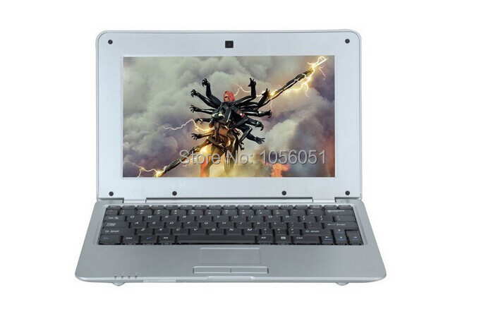 10 inch 1G 8G android 4.2 dual core mini notebook Wifi Webcame laptop netbook(China (Mainland))
