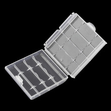 New Hard Plastic Case Cover Holder for AA / AAA Battery Storage Box Digital Hot(China (Mainland))